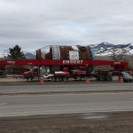 A Megaload truck in Montana.